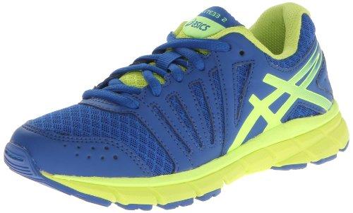 ASICS Gel-Lyte 33 2 GS Running Shoe ,Royal/Flash Yellow/Lime