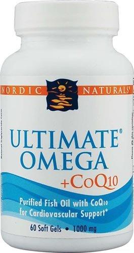 Nordic Naturals Ultimate Omega? Plus CoQ10 -- 60 Softgels