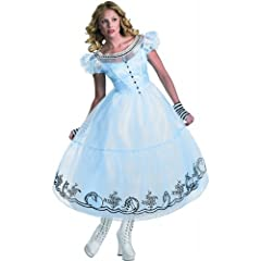 Deluxe Alice Costume - Small - Dress Size 4-6