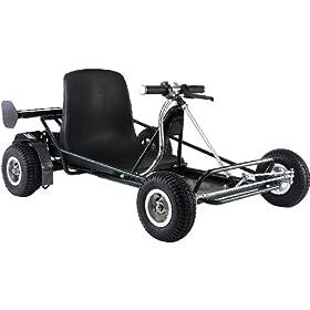 - Green SolarWing 350 Electric Go Kart