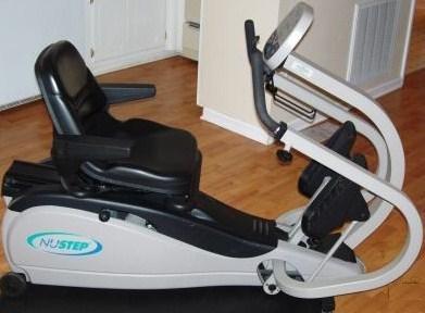 Recumbent Exercise Bike: Nustep TRS 4000 Recumbent Cross ...