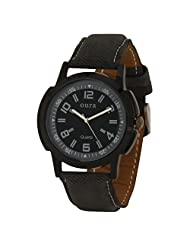 Oura Analog Round Black Dial Casual Wear Watch For Men - B019SY01Y8