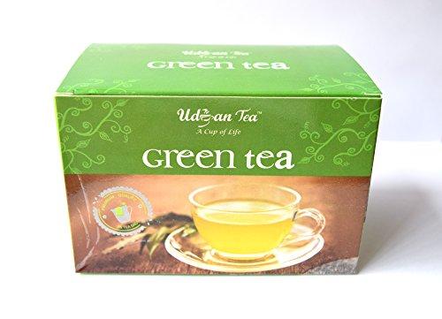 Udyan Green Tea Bags - 100 Bags (Regular)