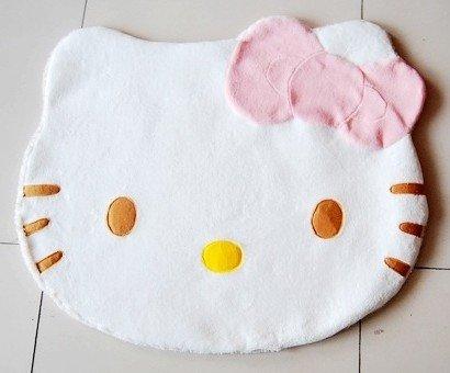 Hello Kitty Girl Soft Carpet Bedroom Rug