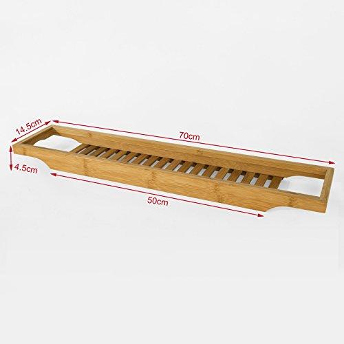 per vasca da bagno in bambù,Scaffale da bagno, Set di accessori per ...