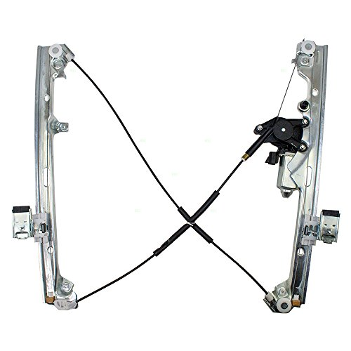 Passengers Front Power Window Lift Regulator & Motor Assembly Replacement for Chevrolet Cadillac GMC Pickup Truck SUV 19120847