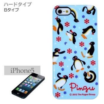 ピングー/Pingu iPhone5ケース ブルー/ハードタイプ