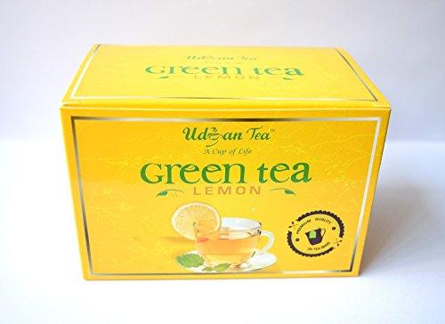 Udyan Green Tea Bags - 100 Bags (Lemon)