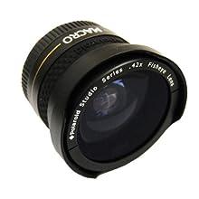 Polaroid Studio Series .42X HD Fisheye Lens 37mm