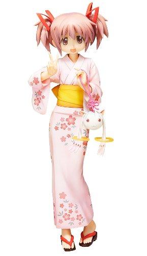 Movie version Puella Girl Madoka Magica Kaname Madoka Yukata Ver.JPN excellent