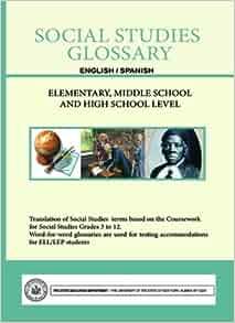Social Studies Glossary - English/Spanish - Elementary
