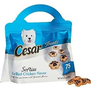 Amazon.com : Cesar Grilled Chicken Softies Dog Treats 6.7