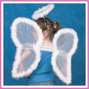 Angel Wings & Halo Headband