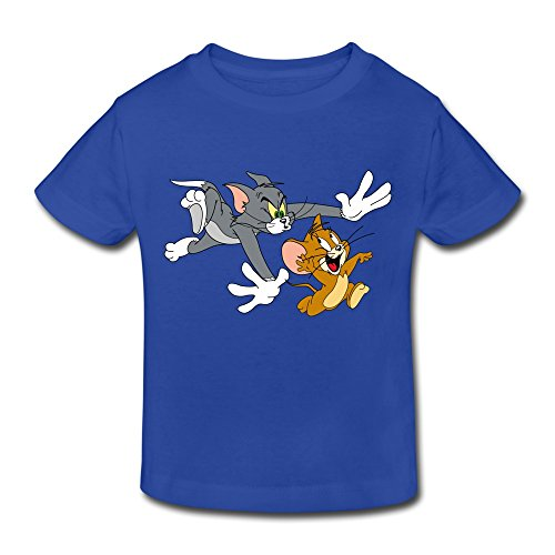 Kids Toddler Tom And Jerry Show T Shirt