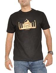Stallion Cottons Men's Round Neck Cotton T-Shirt - B00ZIHMN78