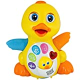 Mee Mee Musical Flapping Duck, Multi Color