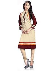 Swastik Women's Clothing Designer Party Wear Low Price Sale Offer Cotton Kurtis Free Size Top Tunic Kurti | Kurta