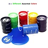 3 ~ Large 5oz Barrel Of Slime Three Assorted Colors Barrel Of Slime, Toy:Bos3