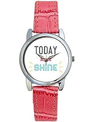 Bigowl Today You Will Shine Typography Analog Women's Wrist Watch 2003748603-RS3-S-PK1