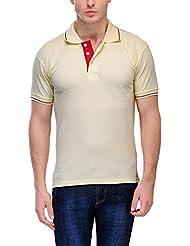 Scott Men's Premium Cotton Polo T-shirt - Cream