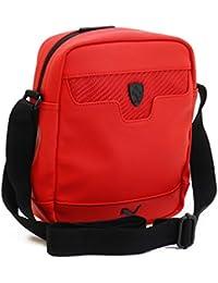 Puma Ferrari LS Portable Rosso Corsa Messenger Bag