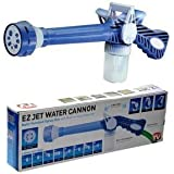 Everny EZ Jet Cannon 8-in-1 Turbo Water Spray Gun For Gardening, Car Wash, Home Cleaning