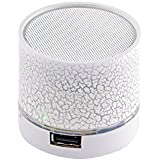 Buddy Jack Series Mini Bluetooth Speaker With USB Port / Memory Card Slot With Disco Lights Awesome Effects-MM...