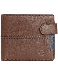 Walletsnbags Loop & Stitch Leather Mens Wallet - B01JOYJFJE