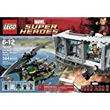 Game / Play LEGO Super Heroes Iron Man Malibu Mansion Attack (76007) Features Malibu Mansion Section Toy / Child...