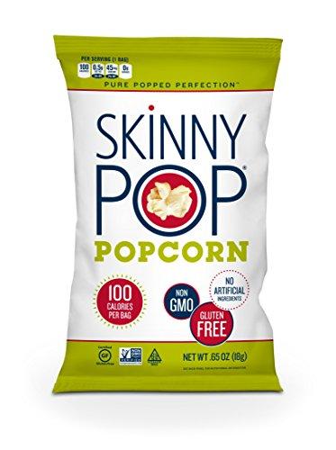 SkinnyPop Popcorn, Original, 0.65 Ounce (Pack of 30)