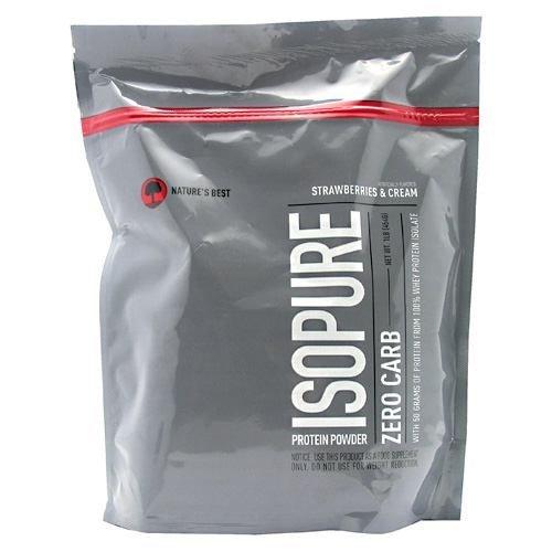 Nature's Best Isopure Protein Powder Zero Carb Strawberries