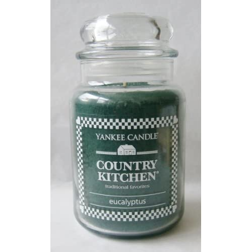country kitchen candles eucalyptus 22 oz large jar country kitchen 2748