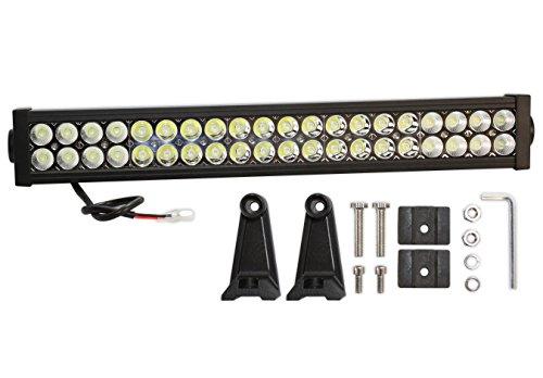 Prime Choice Auto Parts PLBAR22120A 22 Inch 120W LED Flood Spot Combo Light Bar