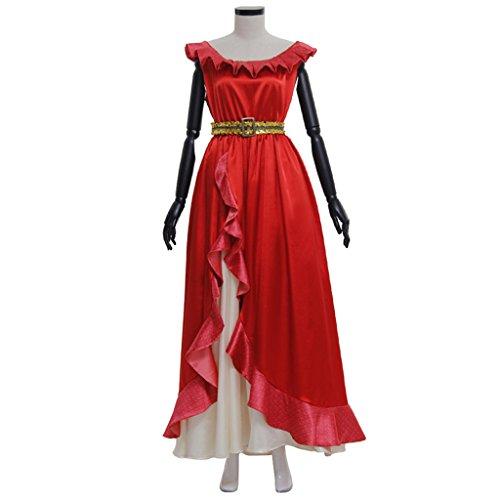 CosplayDiy Women's Dress for Elena of Avalor Princess Elena Halloween Cosplay