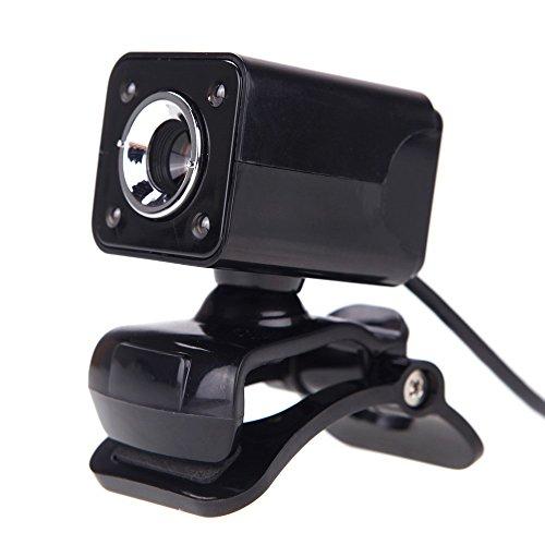 Generic NG-150 USB 2.0 12 Megapixel 360 Degree Web Cam With MIC For Desktop Black