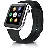 Sudroid Smart Watch For Iphone And Android Heart Rate Monitor Smart Watches With 4-Port Hub Gold Silver