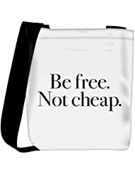 Snoogg Be Free Not Cheap Womens Carry Around Cross Body Tote Handbag Sling Bags