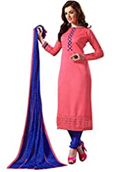 Mantra Fashion New Designer Embroidery Long A-Line Salwar Suit - B016F7ZJEI