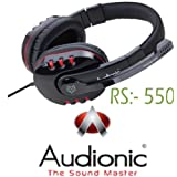 Studio4 Professional Strong High Bass Digital Dynamic Stereo Over The Ear Headphone Headset With MIC