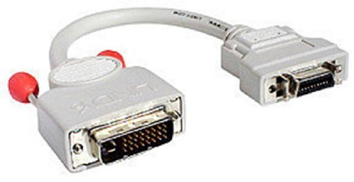 LINDY 0.2 Meter DVI Digital To DFP Adapter Cable DVI-D M/MDR20 F (41220)