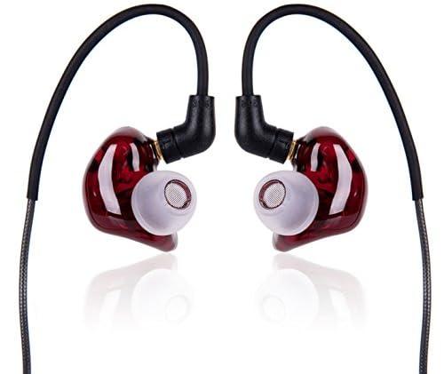 Pai audioセミオープン型 MR3 Burgundy トリプルバランスドアーマチュアイヤホン PAI-MR3 Burgundy