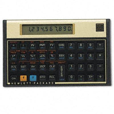 HP - 12c Platinum Financial Calculator, 10-Digit LCD - Sold