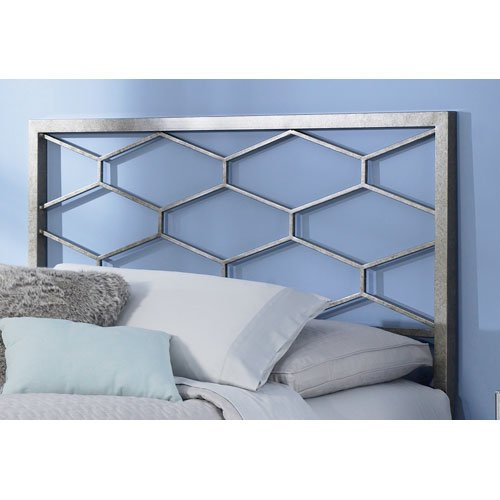 Leggett and Platt Fashion Bed Group Camden Golden Frost Headboard, Queen, Silver