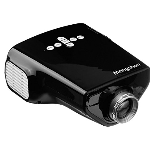 Mengshen Portable Mini LED Projector Multimedia Beamer Entertainment Home Theater Movie Computer Lcd Projectors...