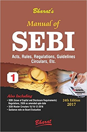 Manual of SEBI Act & Rules-2017 Edition Book