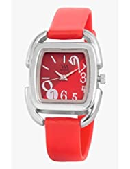Watch Me Purple Leather Analogue Watch For Women WMAL-112-PL