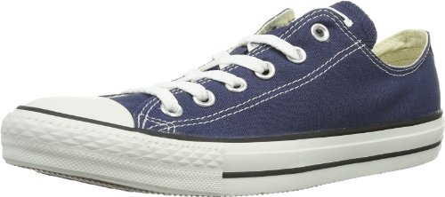 Converse All Star OX - Zapatillas de deporte de lona, unisex, color azul (blue (navy)), talla 41.5