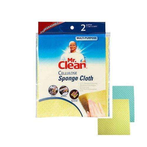 ミスタークリーン セルロース スポンジ クロス 2枚セット Mr. Clean Sponge Cloth 2P Set オクタニ