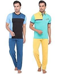Men's Casual Tops & Pyjama Set Combo By Valentine