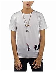 I AM TROUBLE BY KC Men's Crew Neck T-Shirt - B00XYFLQPQ